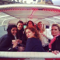 Enterrement de Vie de Jeune Fille à Paris en Tuktuk