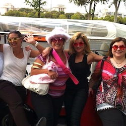 EVJF à Paris en Tuktuk
