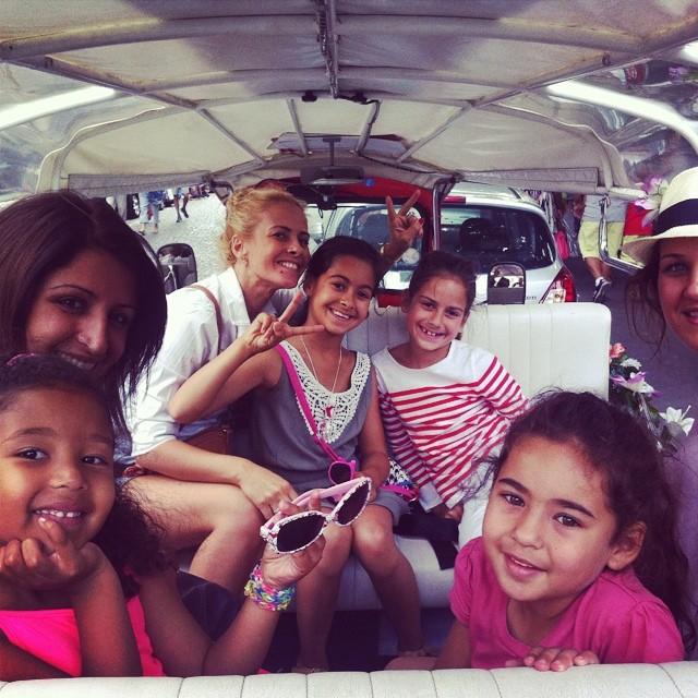 Un Tour de Paris en Famille en Tuktuk